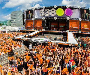 festival, orange, and party image