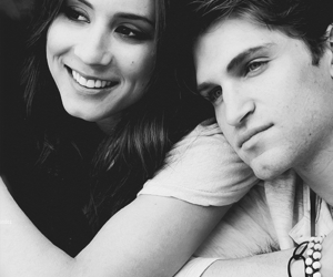 black and white, keegan allen, and pll boys image