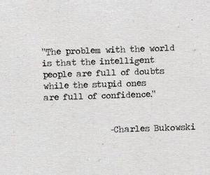 quote, confidence, and doubt image