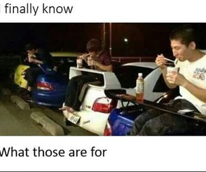 cars, food, and funny image