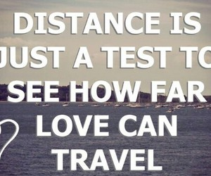 quote, travel, and love image