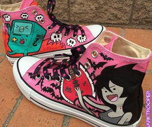 shoes, marceline, and adventure time image