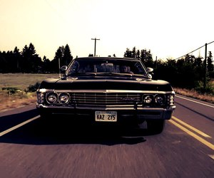 impala, supernatural, and winchester image