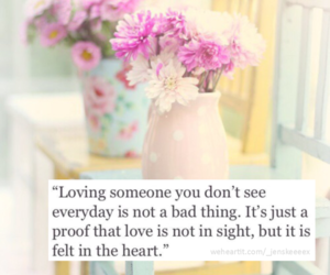 quote, flowers, and love image