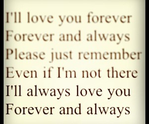 always, forever, and heart image