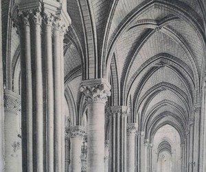 architecture, france, and old photo image