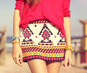 fashion, skirt, and summer image
