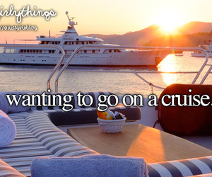 cruise, justgirlythings, and summer image
