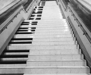 piano and stairs image