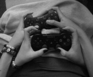 games, ps4, and couple goals image