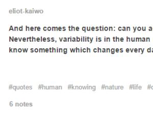 human, nature, and question image