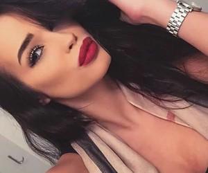 beautiful, lips, and fashion image