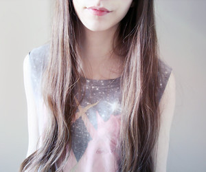 fashion, galaxy, and girl image