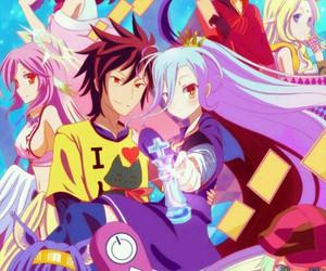 anime, shiro, and sora image