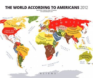 map and funny image