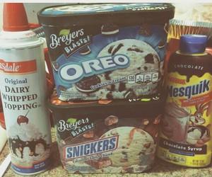 chocolate, icecream, and oreo image