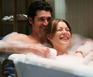 couple, meredith grey, and love image