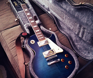 beauty, epiphone, and guitar image