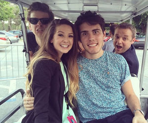 zoella, zalfie, and youtubers image