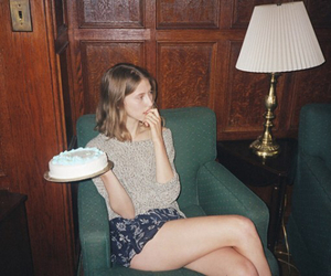 cake, cream, and indie image