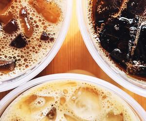 iced coffee, starbucks, and coffee love image
