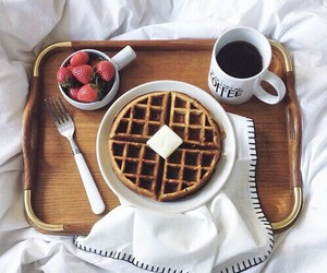 food, breakfast, and coffee image