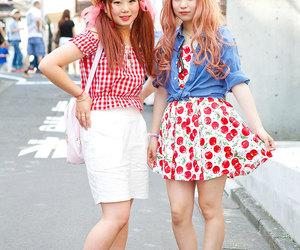 japan and harajuku fashion image