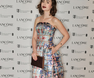 london and lily collins image