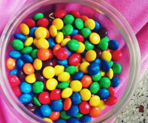 colorful, food, and smarties image