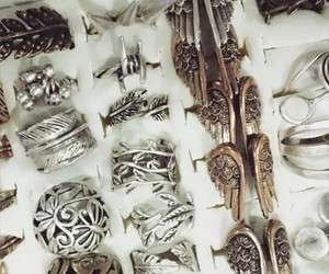 accessories, angel, and rings image
