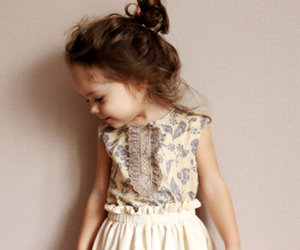 fashion, litlle girl, and girl image