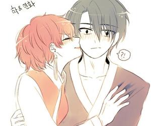 akatsuki no yona and yona and hak image