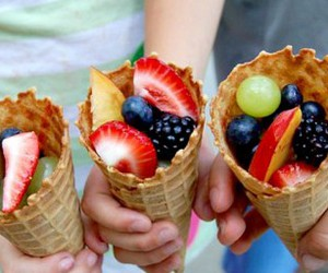 colors, cones, and food image