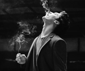 cagatay ulusoy, smoke, and boy image