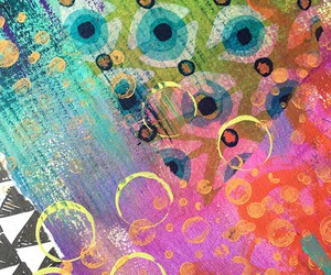 art journal, art journaling, and art journal pages image