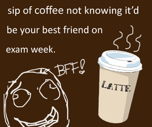 brown, coffee, and exam image