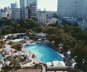 pool and travel image