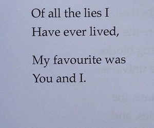 lies, love, and quotes image