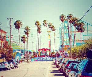 boardwalk, california, and Santa Cruz image