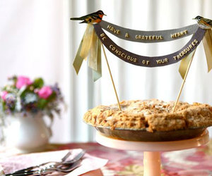banner and pie image