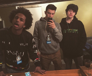 digitour, aaron carpenter, and hayes grier image