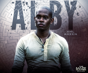 alby, the maze runner, and book image