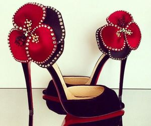 shoes, fashion, and christian louboutin image