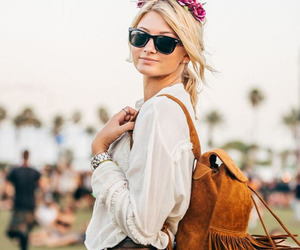 boho, fashion, and festival image