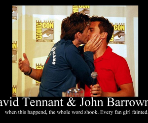 david tennant and john barrowman image