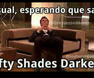 christian grey, fifty shades darker, and fifty shades of grey image