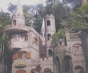 building, castle, and grunge image