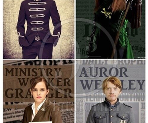 harry potter, hermione, and ginny image