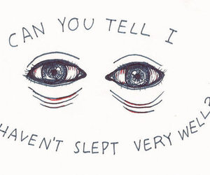 quote, sleep, and eyes image