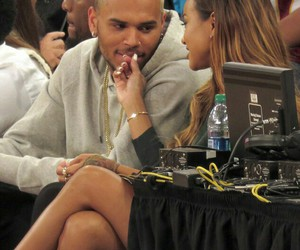 chris brown, couple, and Relationship image